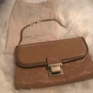 JIMMY Choo Patent Leather USED STAINED BAG